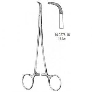 Adson Baby Hemostatic Forceps Curved 18cm