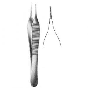 Adson Micro Forceps Serrated 12cm
