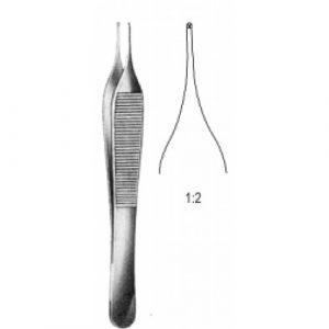 Adson Micro Tissue Forceps 1x2T 12cm