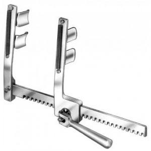Ankeney Rib Spreader child 20x20x160mm, Stainless Steel made