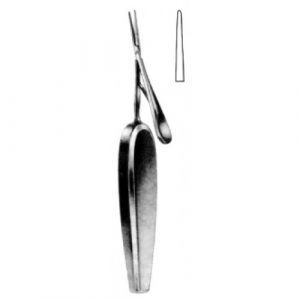 Barraquer Needle Holder with hollow handle 16cm