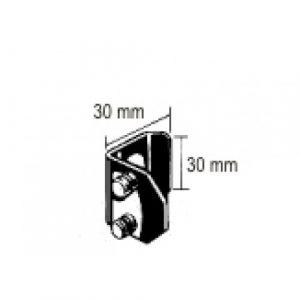 Blade/Finochietto Spreader 30x30mm pair Aluminium
