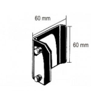 Blade/Finochietto Spreader 60x60mm pair Aluminium