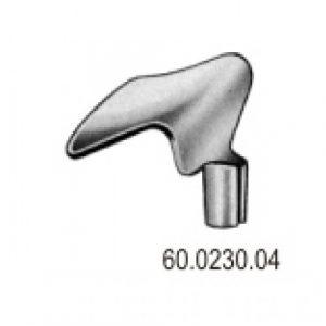 Blade for Scherbak Vaginal Speculum 55×40/60m