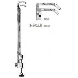 Blalock Aorta Clamp 23mm jaw 20cm