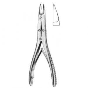 Bohler Bone Cutting Forceps Curved 15cm
