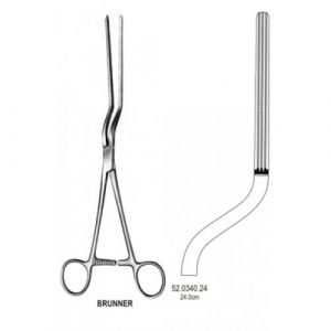 Brunner Intestinal Forceps Atrauma 24cm