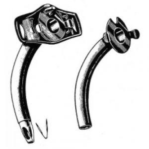 Collin Tracheotomy Tube Fig.4, 8mm S/P