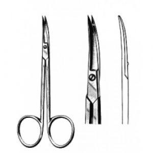 Cuticle Scissors Curved 10.5cm