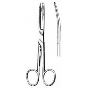Deaver Scissors Curved sh/bl 14cm