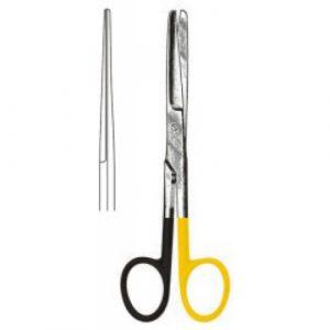 Deaver Scissors Straight bl/bl 14cm S/CUT, Tungsten Carbide