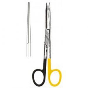 Deaver Scissors Straight sh/sh 14cm S/CUT, Tungsten Carbide