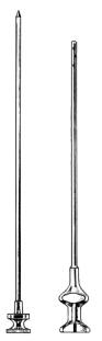 Eicken Antrum Trocar Needle luer 2.0mm 10.5cm