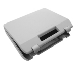 Empty hard case small grey with foam packing