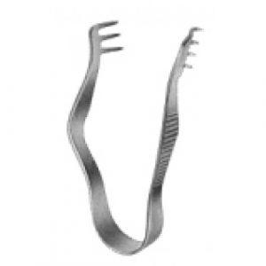 Finsen Retractor blunt 3x3pr. 5cm