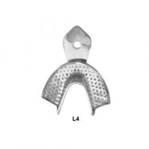 Impression Trays-Stainless Steel L4
