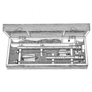 LLOYD DAVIES Sigmoidoscope set w/transformer