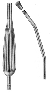 Yankauer Suction Tube Fig.3, 13,5cm